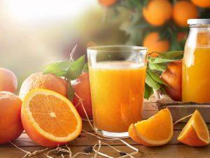خواص آب پرتقال